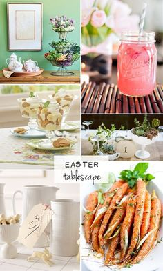 Natty Michelle: Easter Tablescape
