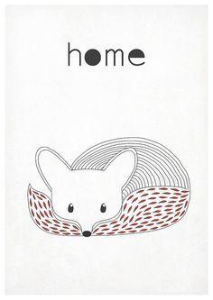 Скандинавские олдскул-постеры - ⌂ Скандинавский кантри, полюби свой дом - Babyblog.ru