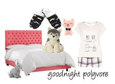 """""""Goodnight Polyvore"""" by livinglifeincolorannie ❤ liked on Polyvore featuring Dorothy Perkins and Leisureland"""