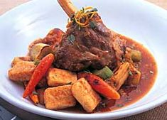 Hearty Lamb Shanks recipe from Food in a Minute