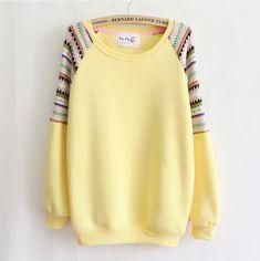 De color [ Magia] Mix manga bordado de punto de alta calidad interior de polar con capucha de las mujeres del invierno camisetas calientes de 6 colores gratis en Sudaderas de Moda y Complementos en AliExpress.com | Alibaba Group
