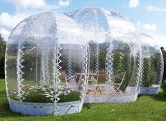 SHJWORKS' Pop Up Greenhouses Add a Splash of Summer to Cold Climate Cities | Inhabitat - Sustainable Design Innovation, Eco Architecture, Gr...
