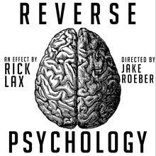 2016 Psicología Inversa por Rick Lax-magia(China (Mainland))