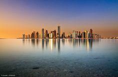 Doha skyline ~ Qatar....