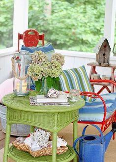 Sentados en el Porche | Decorar tu casa es facilisimo.com