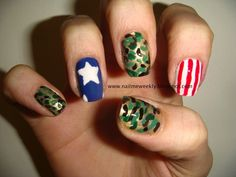 Veterans Day Nails