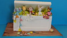 Toys box cake: tutorial - Cake