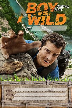 1000 Images About Survival Party Boy Vs Wild On Pinterest