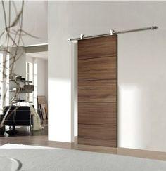 minimalist sliding track door idea pinterest puertas corredizas puertas correderas y granero