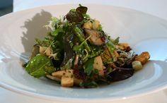 Menü: Herbstsalat mit Pilzen - Rehrücken - Dessertvariation Rezept von Hotel Edelweiss****, Berchtesgaden