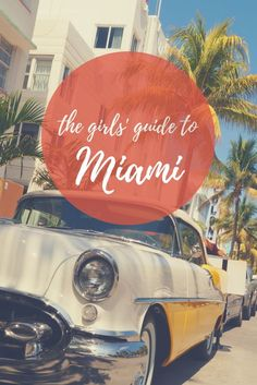 A girls' trip to Miami, Florida - what could be better?! What to do when you visit Miami. Travel in the USA.
