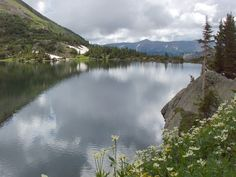 Lake 2 in the Missouri Lakes Basin of Holy Cross Wilderness.