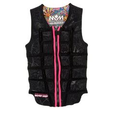 Liquid Force Melissa Comp Wakeboard Vest - Women's 2013  With zipper.... is that a good thing or bad?? Seems hurt when you fall...