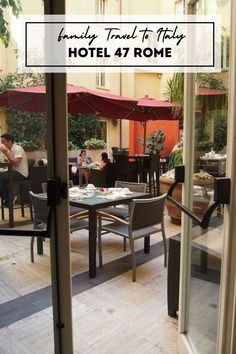 A stunning setting and a staff full of charm, you can't go wrong booking your family at this small Italian luxury hotel. Travel With Kids, Family Travel, Travel Reviews, Best Places To Travel, Italy Travel, Rome, Luxury, Ski, Home Decor