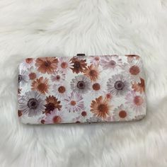 Darling Daisy Clasp Wallet Used a few times.  Damage as seen in pictures.  In good condition Bags Wallets