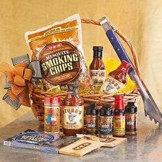 Thrill of the Grill Basket is perfect for any BBQ fanatic! Barbecue Recipes, Bbq, Homemade Gifts, Diy Gifts, Smoking Chips, Random Gifts, Grill Basket, Xmas, Christmas