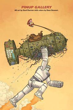 Big Guy & Rusty the Boy Robot - Geoff Darrow (art) & Frank Miller (story)