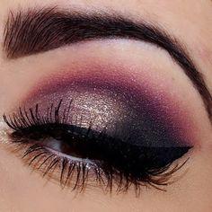 Inspirational eye shadow makeup idea