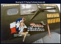 b-17 flying fortress WWII                                        texas raiders