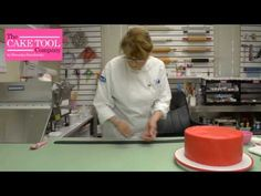 The Cake Tool Company   How to Cover Cakeboards in Fondant Correctly