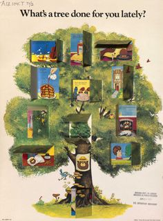 Come check out our poster collection at the State Library! Let Smokey the Bear show you many of the wonderful things trees give to us. Check out some of our other conservation themed posters on the Arizona Memory Project.