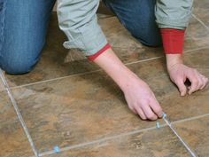 How to Tile a Floor | DIY Network  (pinning for later - will need to know how to do this in the (near) future!)