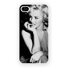 marylin monroe black iPhone 4/4S and iPhone 5 Cases