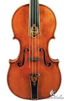 A modern day 'Baroque Violin' designed and made by Badiarov Violins in January 2012. The short fingerboard and the beautiful ornaments on the fingerboard and the tail piece are some main characteristics of the Baroque era. Dimitry Badiarov was born in Russia to a familly with a long musical tradition. He started his own violin making shop in St.Petersburg almost 20 years ago and then moved to Belgium and Japan. Since 2010 he is located in The Hague, The Netherlands making instruments for…