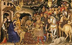 Adoration of the Messiah by Magi - Gaspar, Balthasar, and Melchior