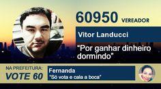 Vote Vitor! Na prefeitura, Fernanda