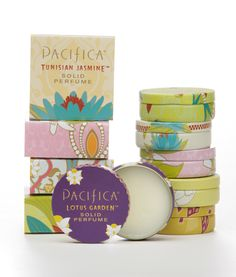 """""""Toss these in your bag to refresh your scent on the go! Phthalate free and made with 100% natural coconut and soy wax. Pacifica's signature fragrance blends use natural and essential oils that work with your own body chemistry to become your own signature scent. Perfectly portable, affordable and adorable!"""""""