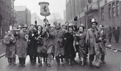 Supporters in 1957 Villa's last FA Cup winning year.