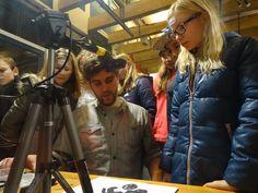 Digitale media gemaakt door kunstenaars van de Vrijstaat Kunstacademie.