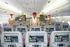 Emirates Brand New Economy Class Seat   Havayolu 101