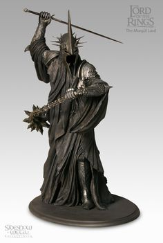 Lord of The Rings Morgul Lord Witch King of Angmar Statue Sideshow 374 9500 - anime figure Coleccionables Sideshow, Sideshow Collectibles, Anime Figures, Action Figures, Action Toys, Witch King Of Angmar, J. R. R. Tolkien, Dark Lord, Costumes