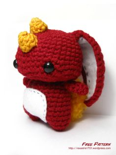 Melvin the Misunderstood Monster – Free Pattern by Karissa Cole. #amigurumi #pattern #crochet