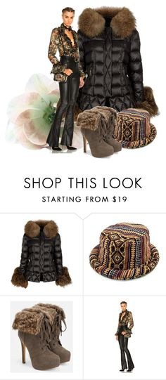 """""""Perfect Puffer Jackets"""" by victoria-ronson ❤ liked on Polyvore featuring Holland Cooper, JustFab and Etro"""
