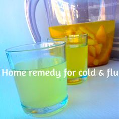 COOL Home Remedy For Colds and Flu