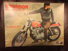 Bronson 1/8 scale Harley Sportster 900 model kit.