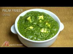 Palak Paneer (2016) - Manjula's Kitchen - Indian Vegetarian Recipes