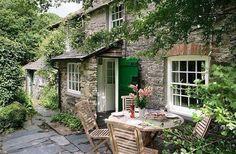 landhaus, garten, rustikal, pflanzen, landhausstil