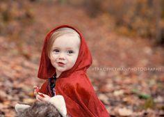 little red riding hood what a precious halloween costume idea!
