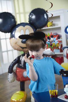 Disney Mickey Birthday Party Planning Guide #Kids #Birthday #BirthdayExpress