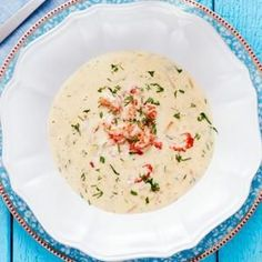 Lyxig kräftsoppa med mjukost Easy Soup Recipes, Fish Recipes, Seafood Recipes, New Recipes, Snack Recipes, Dinner Recipes, Healthy Recipes, Snacks, Food Fantasy