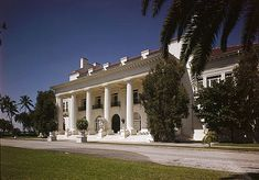 Henry M. Flagler Mansion, Whitehall Way, Palm Beach (Palm Beach County, Florida) by Carrere & Hastings 1900