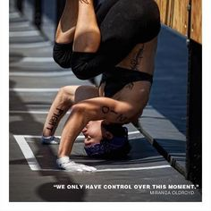 """""""You only have control over this moment."""" if we can focus completely on the present moment- the now- imagine what we can do. Love Fitness, Fitness Goals, Fitness Motivation, Health Fitness, Crossfit Memes, Crossfit Athletes, Crossfit Inspiration, Fitness Inspiration, Workout Inspiration"""
