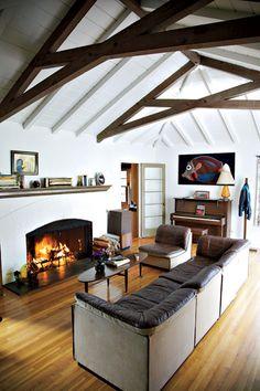 Jenny Lewis' living room