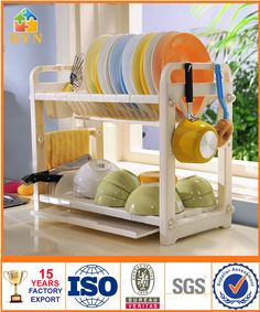BAOYOUNI free shipping storage holder eco-friendly flavoring rack double layer spice rack DQ-1301