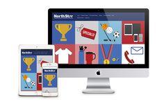 North Star Trophies Website Design - Lindsay Toth