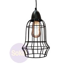 Need pendant lights to brighten up your house? Check out our stylish Industrial Wire Cage Pendant Light .